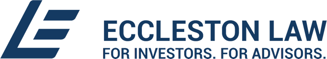 Eccleston Law: For Investors. For Advisors