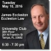 James Eccleston to Speak at CFA Society Tampa Bay Dinner Event